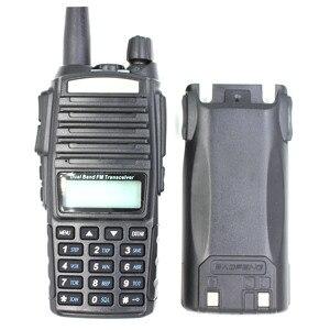 Image 4 - BaoFeng Walkie Talkie Radio bidireccional UV 82, 8W, banda Dual de tres potencias, 136 174MHz, 400 520MHz, transmisor FM portátil