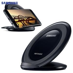 Image 5 - オリジナルサムスン S7 チーワイヤレス充電器 EP NG930 ギャラクシー S8 S9 S10 プラス Note9 iphone 8 × XR XS 最大 huawei 社メイト 20 プロ MI9