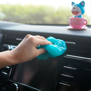 Image 5 - אביזרי רכב פנים קסם אבק מנקה מתחם סופר נקי החלקלק ג ל עבור טלפון נייד מחשב מחשב מקלדת
