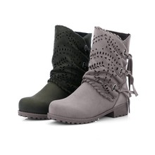 New Women Boots For Martin Shoes Female Winter Ankle Boot Bota Booties Botas Mujer