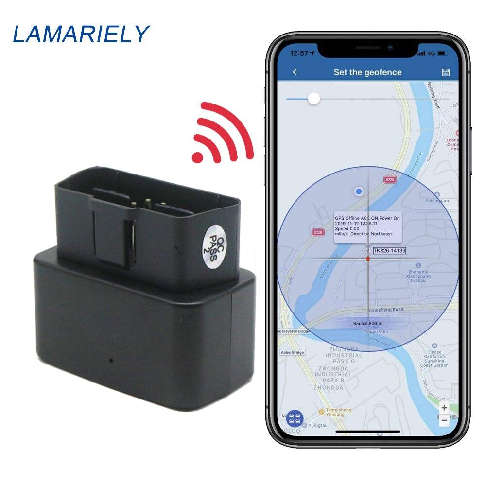OBDII GPS трекер для автомобиля 16PIN OBD Мини GPS трекер GSM OBD2 устройство слежения GPS локатор OBDII с онлайн программным обеспечением IOS Andriod APP