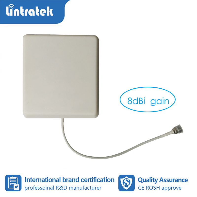 Panel Antenna 700-2700MHz Wide Band Gain 8dBi Outdoor N Female Connector For 2g 3g 4g Mobile Phone Signal Amplifier Booster S6