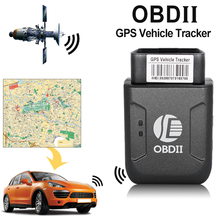 Universal Mini OBD2 GPS Trackers GPRS Real Time Car GSM OBDII 2 TK206 Quad Band Anti-theft Alarm Vehicle Tracking Device System