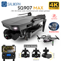 SG907 MAX /SG907 Pro 3-Axis Gimbal 4K Brushless Drone with Camera Wide Angle 5G Wif GPS Optical Flow RC Quadcopter vs SG906 Dron