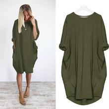 Sonbahar uzun kollu rahat gevşek elbise hamile kıyafetleri hamile kadınlar için Vestidos Gravidas bayan elbise gebelik elbiseler