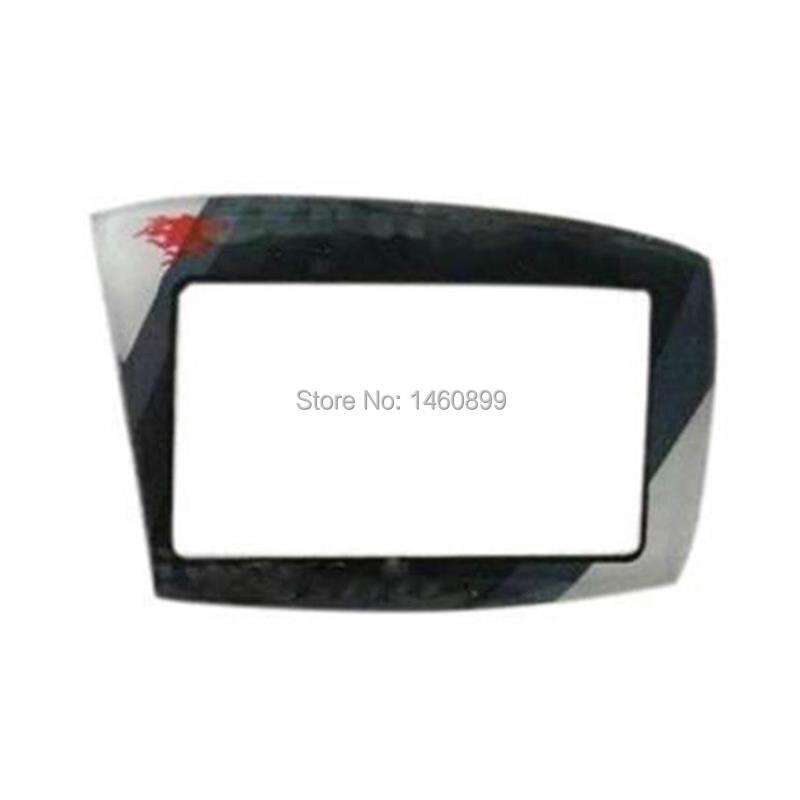 5 PCS/lot Keychain Glass Case Cover For Scher-Khan Magicar 5 6 Scher Khan Lcd Remote Control Case Russian Version Only Glass