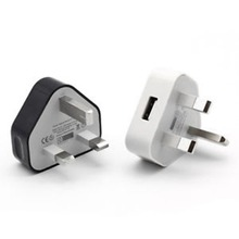 UK Plug 3 Pin USB Plug Adapter Charger Power Plug Wall Socket USB Ports For Phones Tablets Chargeable Devices For Travel Home mirco onesam powerport adapter chargers 2usb ports auto max 2 1a usb travel wall charger 2 foldable plug os c02