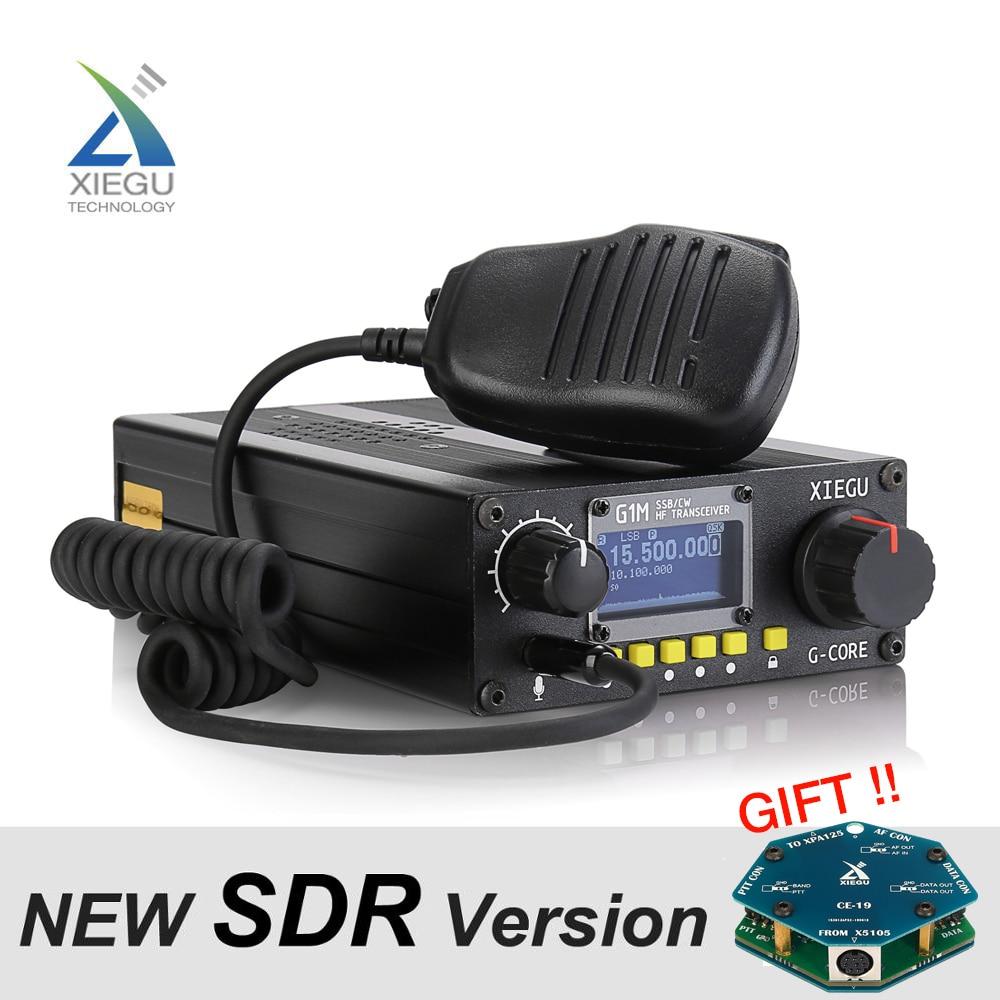 XIEGU G1M HF Quad Band Portable SDR Transceiver QRP Short-Wave 5W SSB CW AW 0.5-30MHz Mobile Radio Amateur Ham