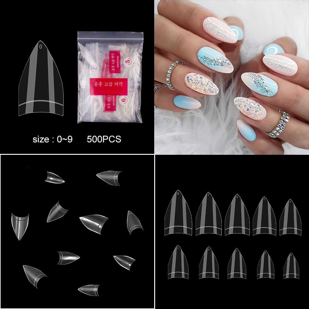 10 моделей типсов для ногтей 100 шт французские балерины искусственные ногти стилеты Типсы для ногтей типсы для маникюра искусственные ногти