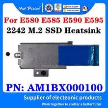 Am1bx000100 para lenovo thinkpad e580 e585 e590 e595 nvme 2242 m. 2 carcasa para disco duro ssd com suporte de calor