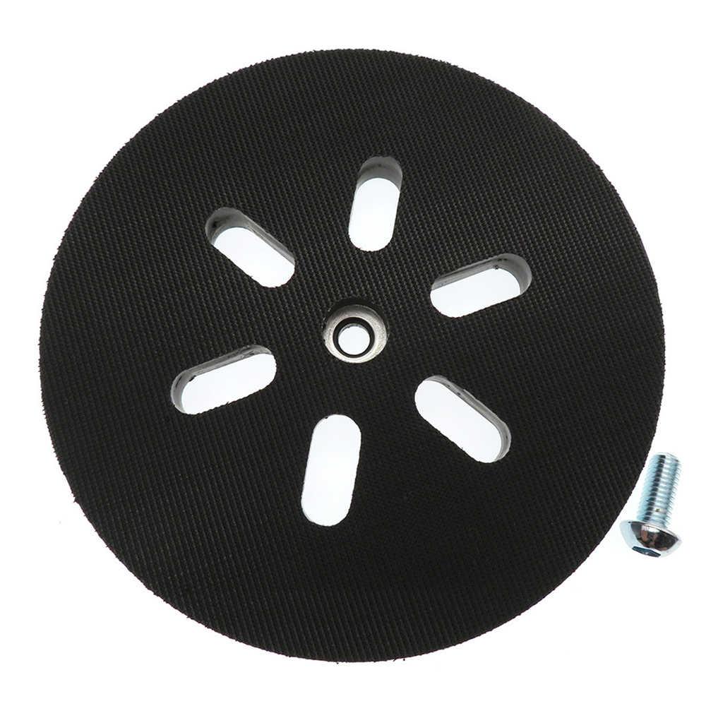 6 150mm Sanding Backing Pad Hook Loop 6 Hole Interface Cushion Pad For Bosch Sanders Sanding Disc Power Orbital Grinder Tool Aliexpress