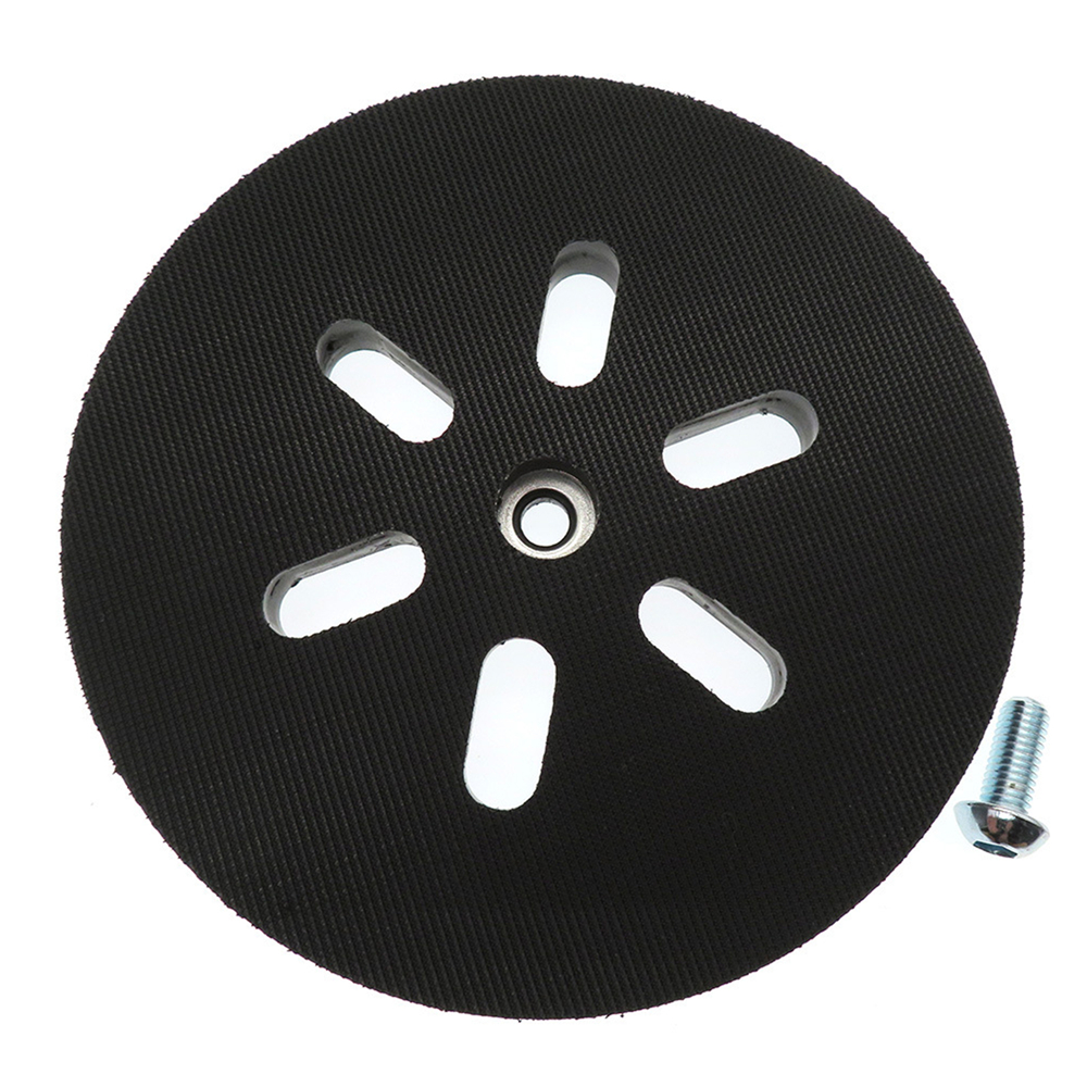 6'' 150mm Sanding Backing Pad Hook Loop 6 Hole Interface Cushion Pad For BOSCH Sanders Sanding Disc Power Orbital Grinder Tool