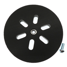 Almohadilla de respaldo de lijado de 6 y 150mm almohadilla de cojín de interfaz de 6 orificios para lijadoras BOSCH, disco de lijado, herramienta de amoladora Orbital de potencia
