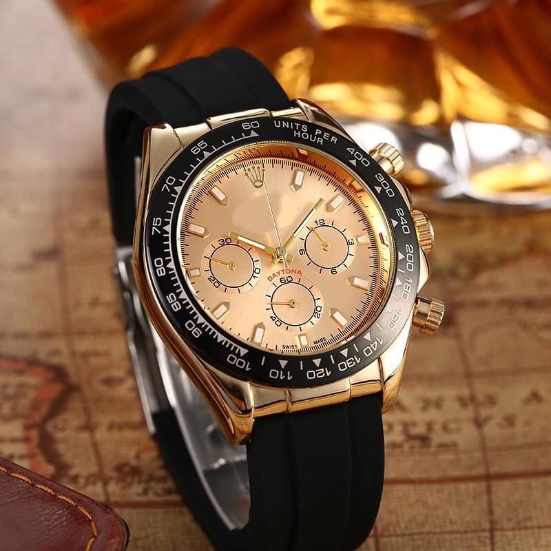 Luxury Men Business Quartz Watch Men's Top Brand Wrist Watch Chronograph AAA Daytona Stop Watches Fashion Gift Montre Homme