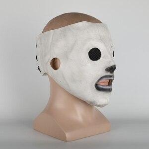 Image 2 - Slipknot маска Corey Taylor латексная маска для косплея TV Slipknot маска Хэллоуин косплей костюм реквизит