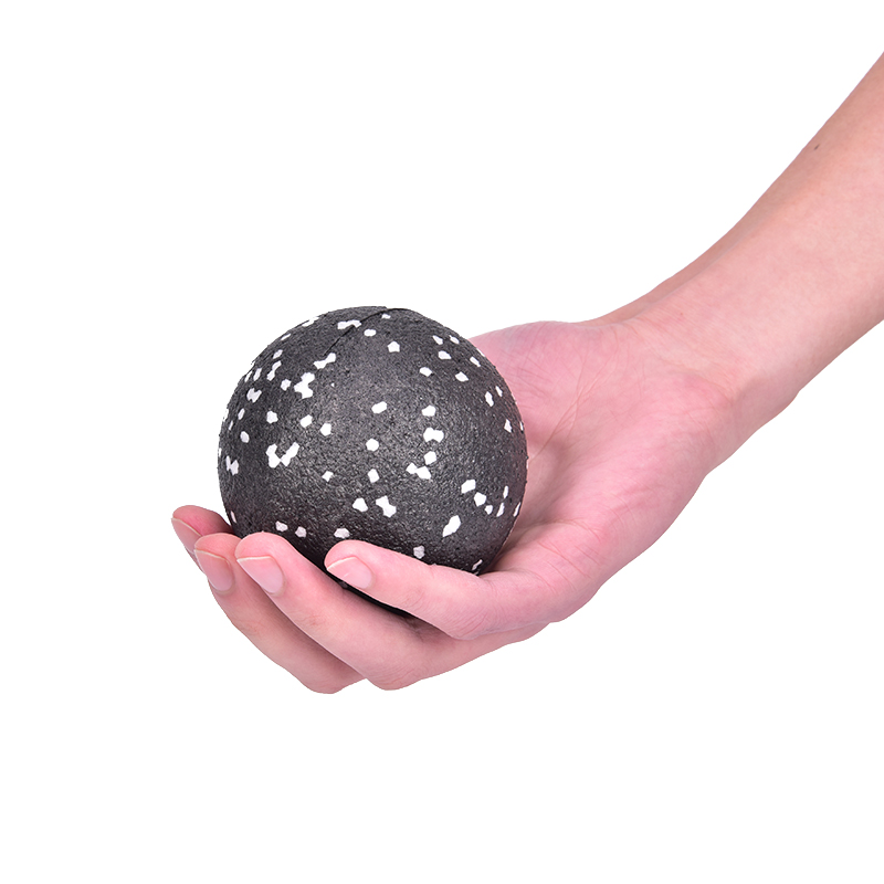 8CM High Density EPP Massage Ball Lightweight Black Fitness Training Massage Ball Body Yoga Sport Exercise