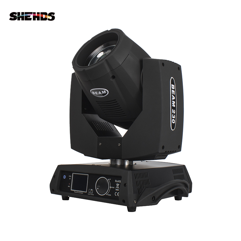 SHEHDS מהיר חינם LED Beam הזזת ראש 7R קרן 230W מגע מסך קרן עבור DJ דיסקו ריקוד רצפת מועדון לילה מסיבות להראות