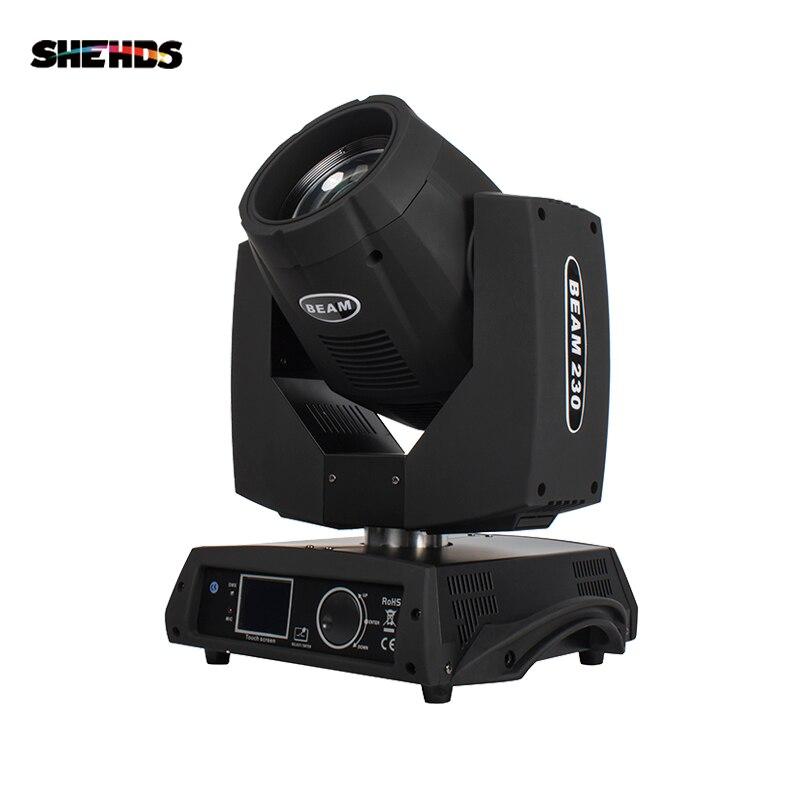 SHEHDS Fast Shipping LED Beam Moving Head 7R Beam 230W Touch Screen Beam สำหรับ DJ DISCO เต้นรำชั้นไนท์คลับงานปาร์ตี้แสดง