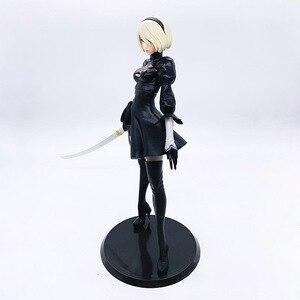 Image 4 - NieR: Automata YoRHa No 2 Type B Figurine 1/6 échelle peint Figure YoRHa No 2 Type B Jouet EN PVC Brinquedos Anime