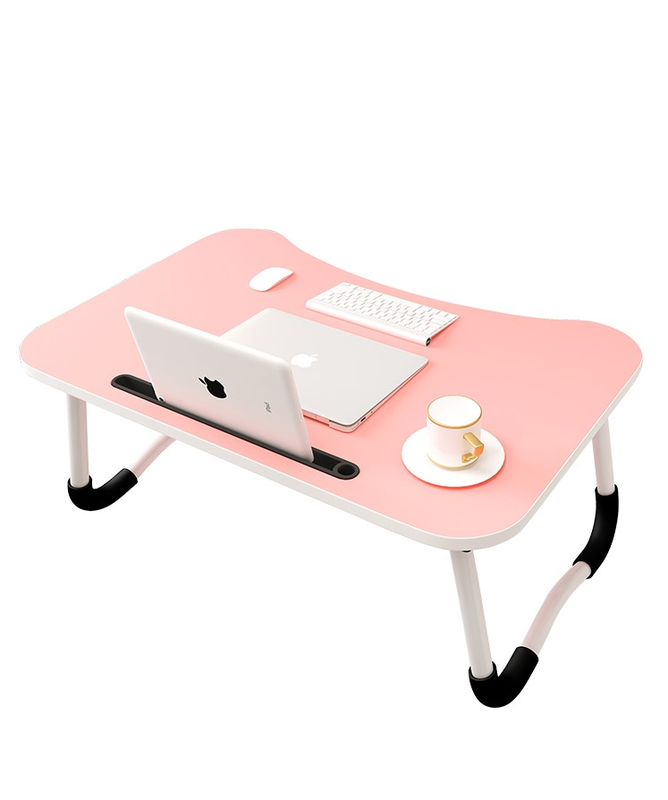 Bed Small Table Foldable Laptop Lazy To Do  Student Bedroom Study Desk Dormitory Artifact