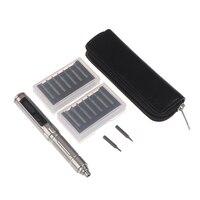 1Set ES121 Mini precisión eléctrica sin cuerda destornillador de movimiento inteligente de Control de 14 Uds Juego de puntas de destornillador