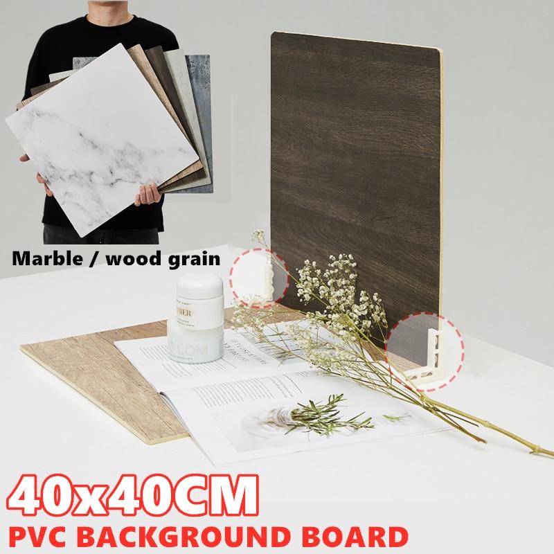 Marmoring foto fundos de madeira grão pvc placa pano de fundo durável à prova ddurable água foto realista para o estúdio de fotografia do produto