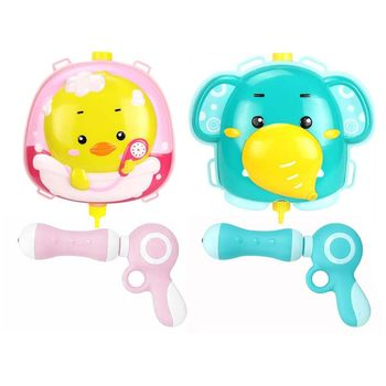 цена на Summer Children Cute Backpack Squirt Water Toys Beach Bathing Swimming Pool Water Toy Boys Interactive Outdoor Game Kids Gift