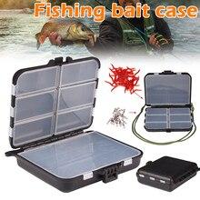 Пластиковый контейнер для рыбалки приманки Крючки переносной чехол для хранения аксессуары для наружного SMN88