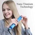 Профессиональный Выпрямитель для волос с плоским утюгом  титановые щипцы для выпрямления волос  щипцы для укладки волос