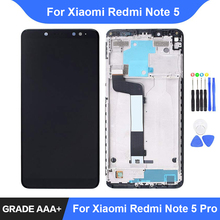 For Xiaomi Redmi Note 5 Pro LCD Display Touch Screen Digitizer Assembly Repair Parts Redmi Note 5 Display Frame Replacement цена в Москве и Питере
