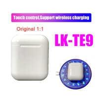Оригинальные LK-TE9 1:1 Беспроводные Bluetooth 5,0 супер стерео басовые наушники для iphone Android телефон PK i14 I12 I10 I11 Tws lk-te8