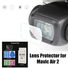 Lens tempered protective film for Mavic Air 2 Ultrathin Clear Dustproof lens Protector Protective Film for Mavic Air 2 camera lens protective film for dji mavic air 2 tempered glass film anti scratch screen protector for mavic air 2 accessories