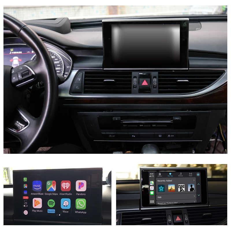 Đa Phương Tiện Chơi Cho Xe Audi A6 S6 C7 4G 2012 ~ 2016 2017 2018 Mmi Rmc 4G Android tự Động Stereo Định Vị GPS Màn Hình Cảm Ứng