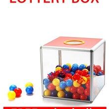 Party-Supplies Aluminum-Alloy 25x25x25cm Lottery-Box Removable MDF Promotional Transparent