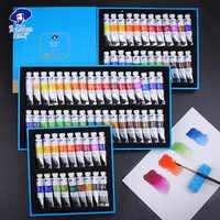 Paul Rubens 5ml Aquarell Farben Tube Set Wasser Farbe Malen Pigment aquarel verf für Anfänger Zeichnung Kunst Liefert Schreibwaren