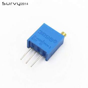 10 3296 W high precision variable resistance potentiometer trimmers 103 10K ohm electronics tantalum capacitors 10k ohm 3w 2% resistance glaze high voltage resistor