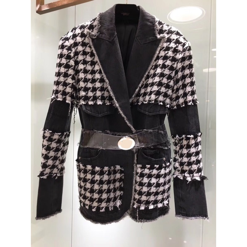 100%Wool Woman Winter Coats 2019 Women's Blazer/Suit/Jackets /Blazers/ Vadim/blazers And Jackets/Tops And Blouses Winter Clothes