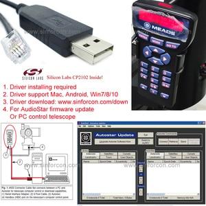 Image 1 - Meade ETX 90 ETX 125 LXD75 LX80 LX90 Meade 497 Autostar Meade Audiostar Toetsenbord Om Een Pc Seriële Kabel Meade 505 Kabel