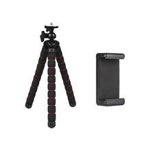 Get more info on the DJI OSMO Camera Mobile Phone Flexible Sponge Octopus Tripod for Go pro 7 6 5 4 H9R Sj9 Sj8 pro Canon/Nikon/Sony Accessory Tripod