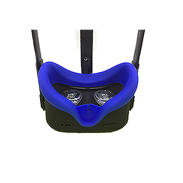 Soft Anti-sweat Silicone Eye Mask Cover for Oculus Quest VR Glasses Unisex Anti-leakage Light Blocking Face Eye Cover Pad 3
