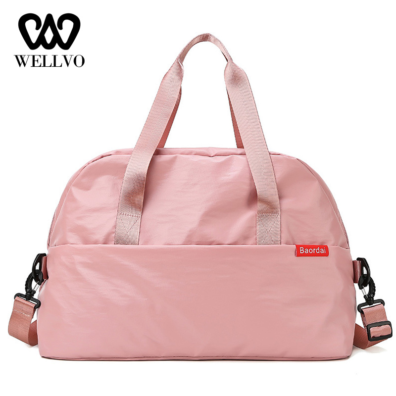 Waterproof Gym Bag Women Fitness Yoga Mat Men Training Hand Bag Swimming Crossbody Travel Bags Large Luggage Handbags XA834WB