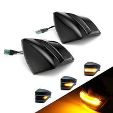 Lumière de miroir latéral dynamique à LED, 2 pièces, pour Ford s-max 2007 – 2014 c-max 2011-2019 Kuga C394 2008-2012, indicateur de rétroviseur