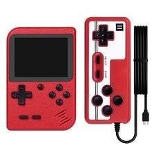 800 で 1 レトロビデオゲームコンソールハンドヘルドゲームプレーヤーポータブルポケットゲームコンソールミニハンドヘルドプレーヤー子供のためのギフト