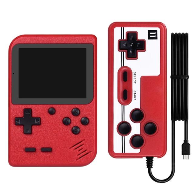 Vídeo game retrô portátil 800 em 1, console manual para jogo de console de bolso e portátil, mini jogador manual para presentear crianças