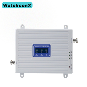 Image 2 - 2G 3G 4G GSM 900mhz DCS 1800mhz WCDMA 2100mhz Triple Band Moblie Signal Booster LTE 1800mhz Repeater Amplifier For Europe Asia