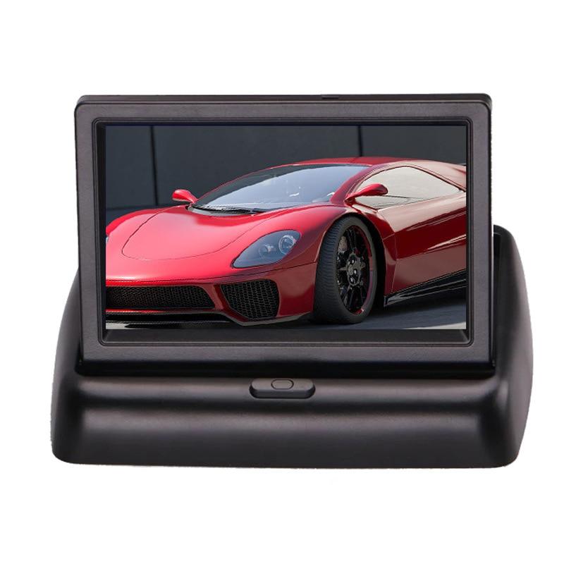 Wireless Car Monitor 4.3 TFT LCD Rear View Camer IR Universal Mirror Parking Assistance for ChevroletCruzeEpicaAveoMalibu  (17)