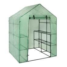100% impermeável anti-uv pvc grade jardim walk-in estufa planta capa