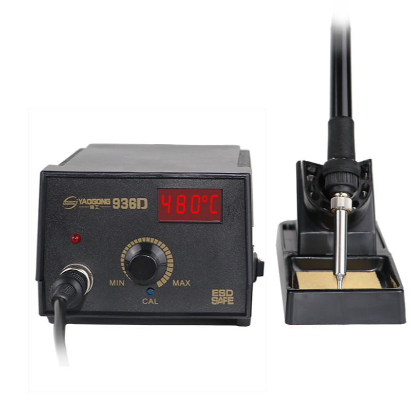 <font><b>Digital</b></font> Display Spot Welder Adjustable Anti-static Mobile Phone Repair Yaogong <font><b>936D</b></font> Electric <font><b>Soldering</b></font> Iron Desoldering <font><b>Station</b></font> image