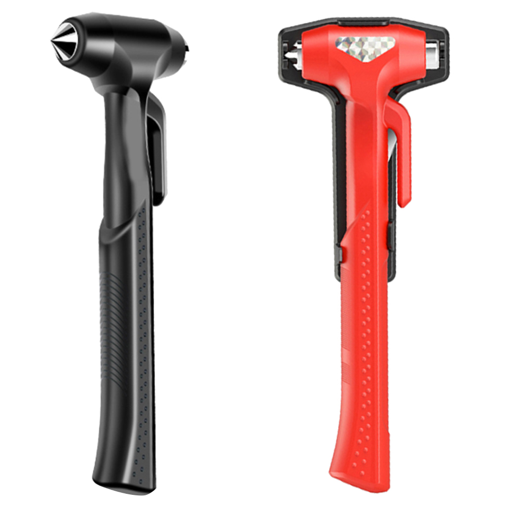 Car Safety Life Hammer Auto Emergency Escape Rescue Tool Seatbelt Cutter Window Punch Glass Breaker Long Handle High Quality D19