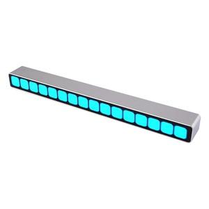 Image 5 - 16 רמת שליטת קול רמת חיווי כחול LED מונו VU מטר אודיו מוסיקה ספקטרום לוח AGC עבור MP3 רמקול מגברי DIY